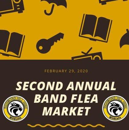 RHHS Band flea market