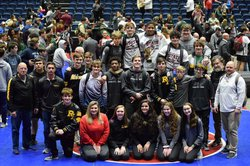 Richmond Hill High wrestlers