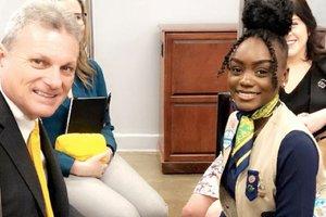 Girl Scout Gold Award recipient
