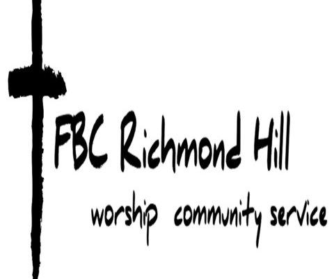 First Baptist Church of Richmond Hill logo