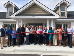 Wyngrove Apartments ribbon cutting