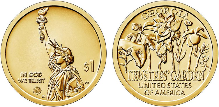 Trustees coin