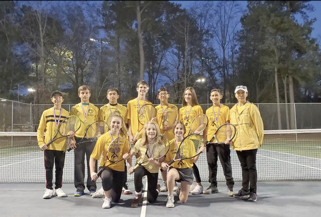 RH Tennis U14 team