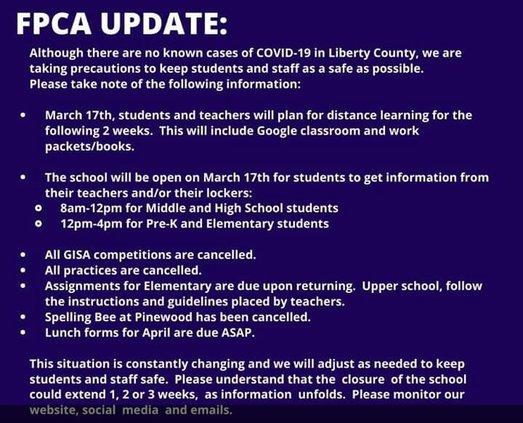 FPCA update 031620