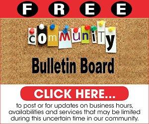 Community bulletin board logo
