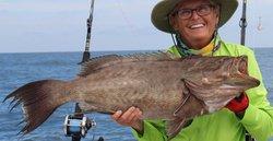 Capt. Judy fishing