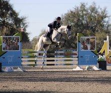 Vivian Heider on horse 1