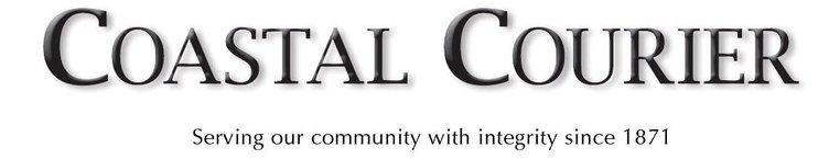 Coastal Courier print logo