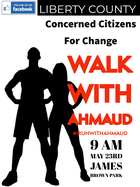 walk for Ahmaud