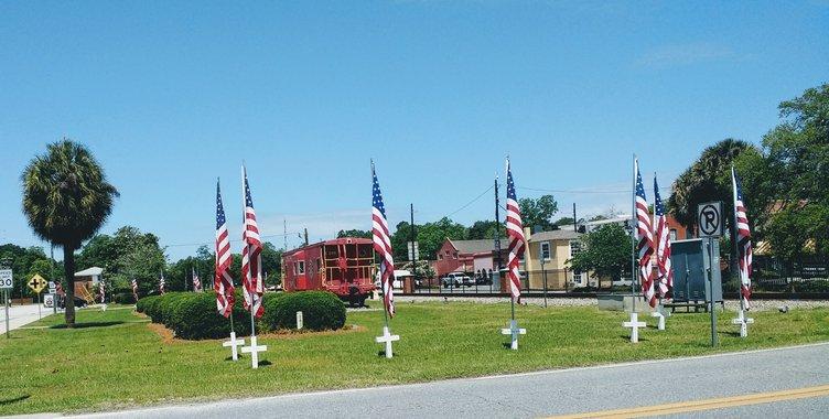 Pembroke flags
