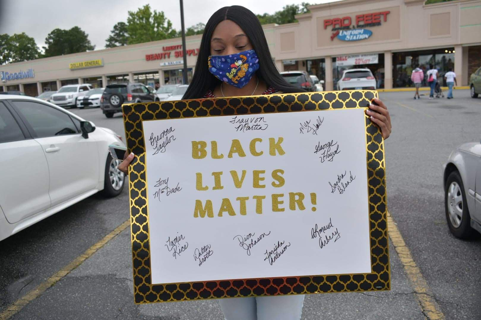 Rally BLM Poster