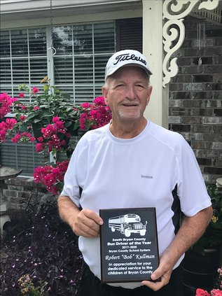 Kullman 2020 school bus driver winner
