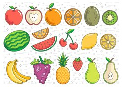 fruit and produce graphic