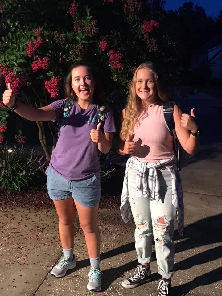 Samantha Cuson, 11th, Natalie Cuson, 10th, RHHS.jpg