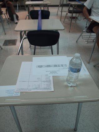 BCHS desk