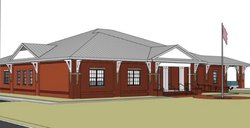 Pembroke city hall rendering