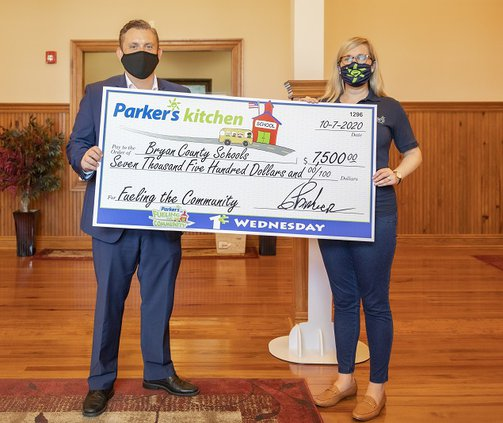 Parkers donation to BC schools