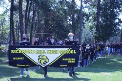 RHHS homecoming parade 1