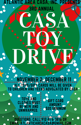 CASA toy drive