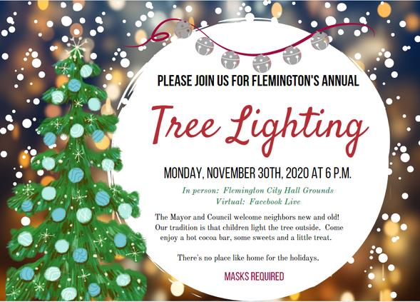 Flemington tree lights