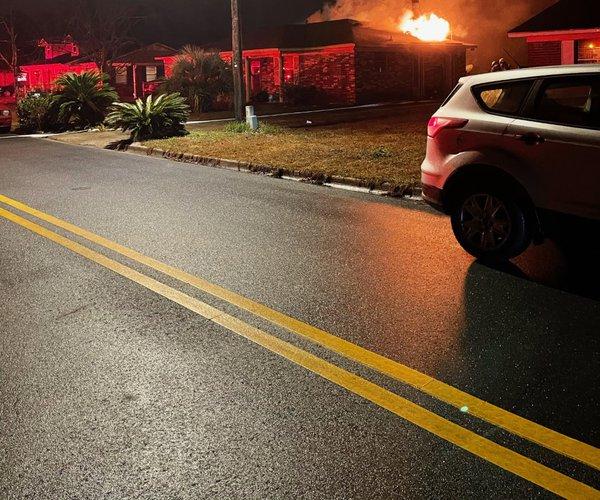Deerwood Court fire