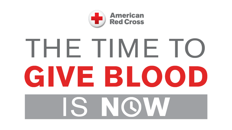 American red cross logo blood drives