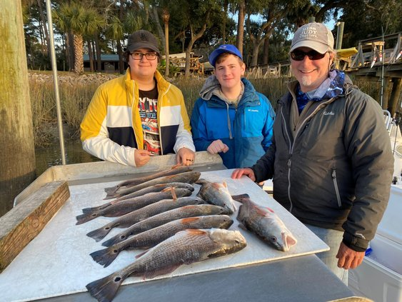 Capt. Judy day of fishing