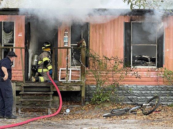 Allenhurst fire
