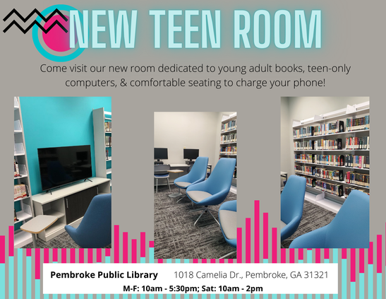 Pembroke Library teen room