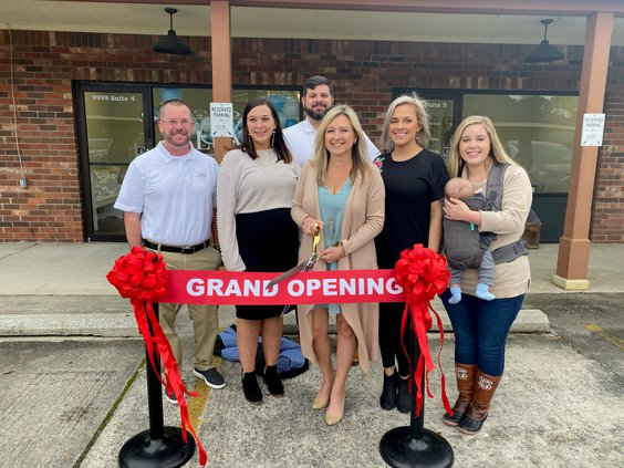 Luxe Real estate ribbon cutting
