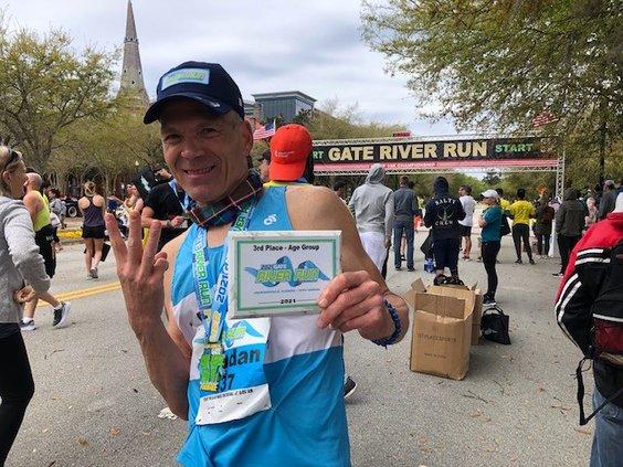 Brendan Vasher run 1