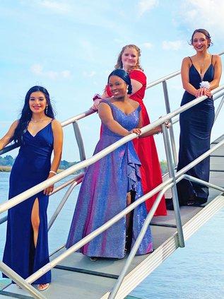 2021 RHHS prom princesses