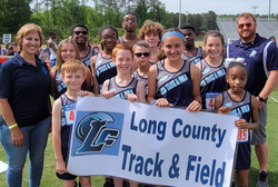 Long Track team