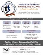 Run for heroes flyer