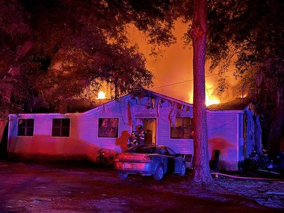 BI senior house fire