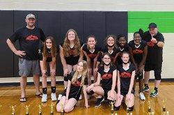 The champion 7th-8th grade Inferno team