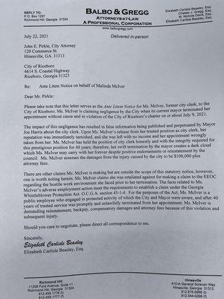 Letter to John Pirkle