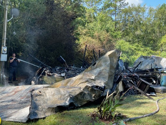 Sharpe Road fire
