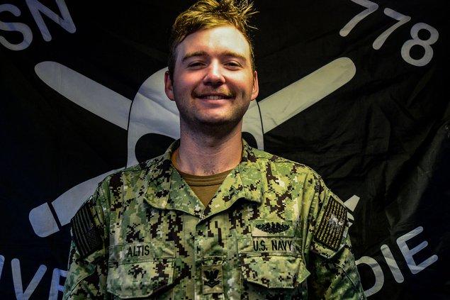 Petty Officer 2nd Class Jacob Altis