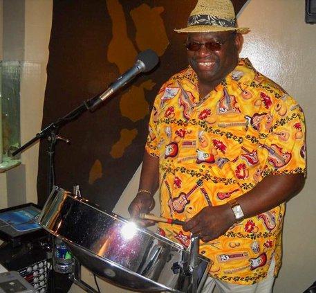Hilton Head steel pan entertainer Melvin Dean
