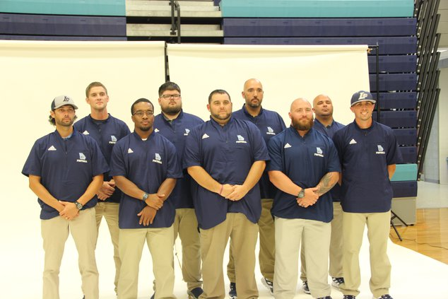 Long County coaching staff poses for a picture
