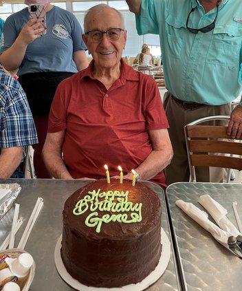 Gene Dowd 91 birthday