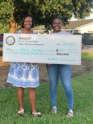 4. Jayna Jackson – Richmond Hill High School - $750.00 award