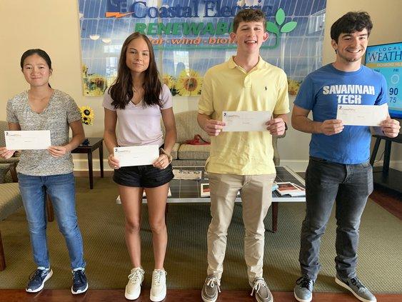Coastal Electric scholarship winners