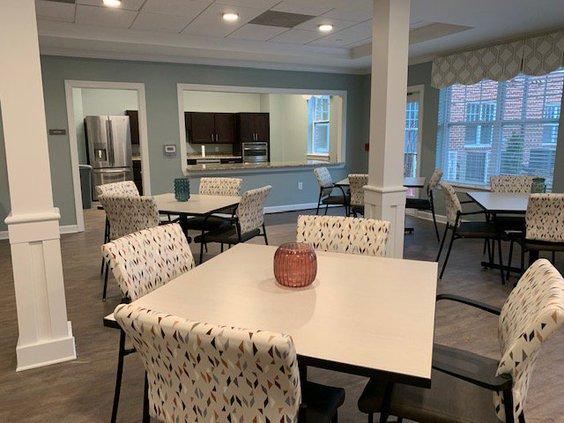 Ash Branch Manor community room