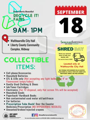 2021 recycle fair