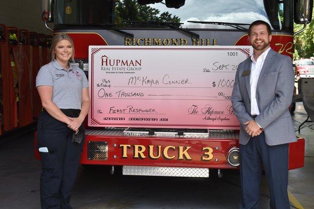 Firefighter award Hupman Group