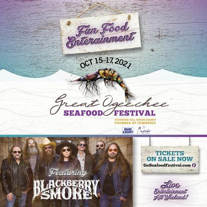 Seafood Fest 2021 flyer