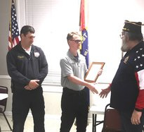 American Legion firefighter of year 21